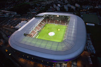 translation not available – Wörthersee Stadion Klagenfurt (Architekt Albert Wimmer), Foto Gert Steinthaler