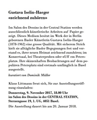 translation not available – Gustava Iselin-Haeger «zeichnend zuhören»