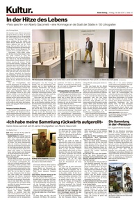 translation not available – Basler Zeitung 18.5.2018