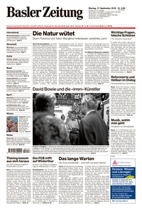 translation not available – Basler Zeitung, 17.9.2018
