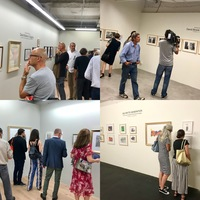 Vernissage Dienstag, 18. September 2018, 18 Uhr in den Räumen Collector's Space, Salon des Dessins und Collector's Space +