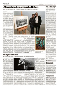 translation not available – Basler Zeitung, 16.11.2018