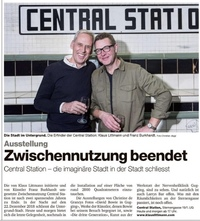 translation not available – Die Erfinder der CENTRAL STATION: Klaus Littmann & Franz Burkhardt