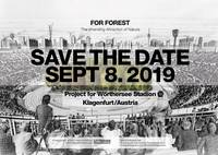 Eröffnung FOR FOREST: Save the Date 8.9.2019