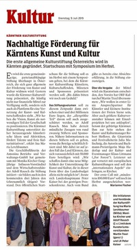 translation not available – Kleine Zeitung Klagenfurt vom 09.07.2019