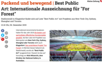 translation not available – Kleine Zeitung, 6. Dezember 2019