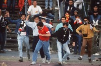 Heysel Stadium disaster. The tragedy begins.