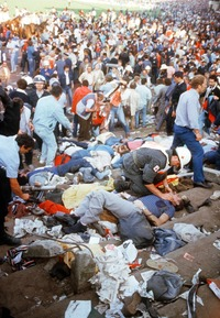 translation not available – FORCE. Heysel Stadium disaster, on May 29th 1985 during the European Cup Final Juventus-Liverpool, set a horrific landmark in the modern history of football: 39 people died and 437 were seriously injured