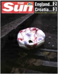 WORDS. England is out from the Euro 2008