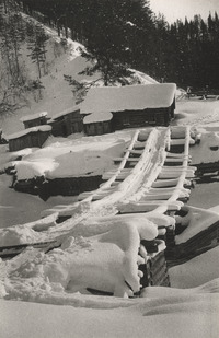 Winterlandschaft in Karelien, 1933
